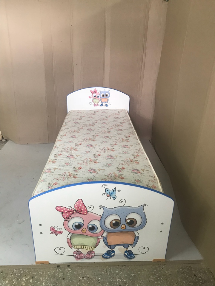 Кровать с фотопечатью