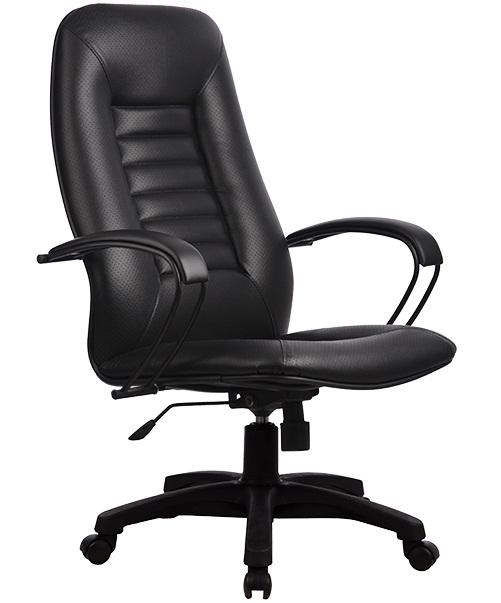 Кресло LР-2 перф. эко-кожа, пласт. пятилучие