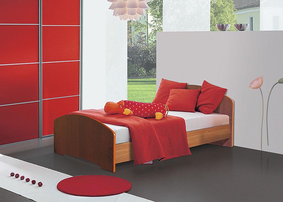 Кровать односпальная лдсп