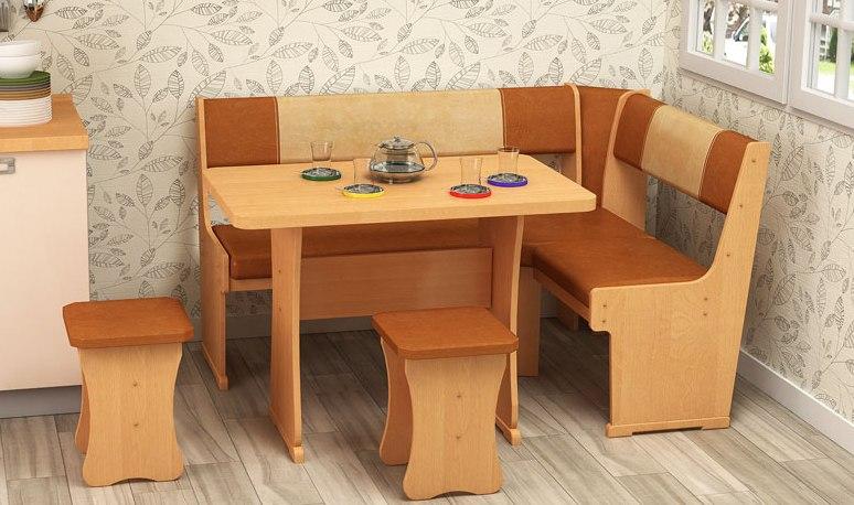 Кухонный уголок Гамма тип 1