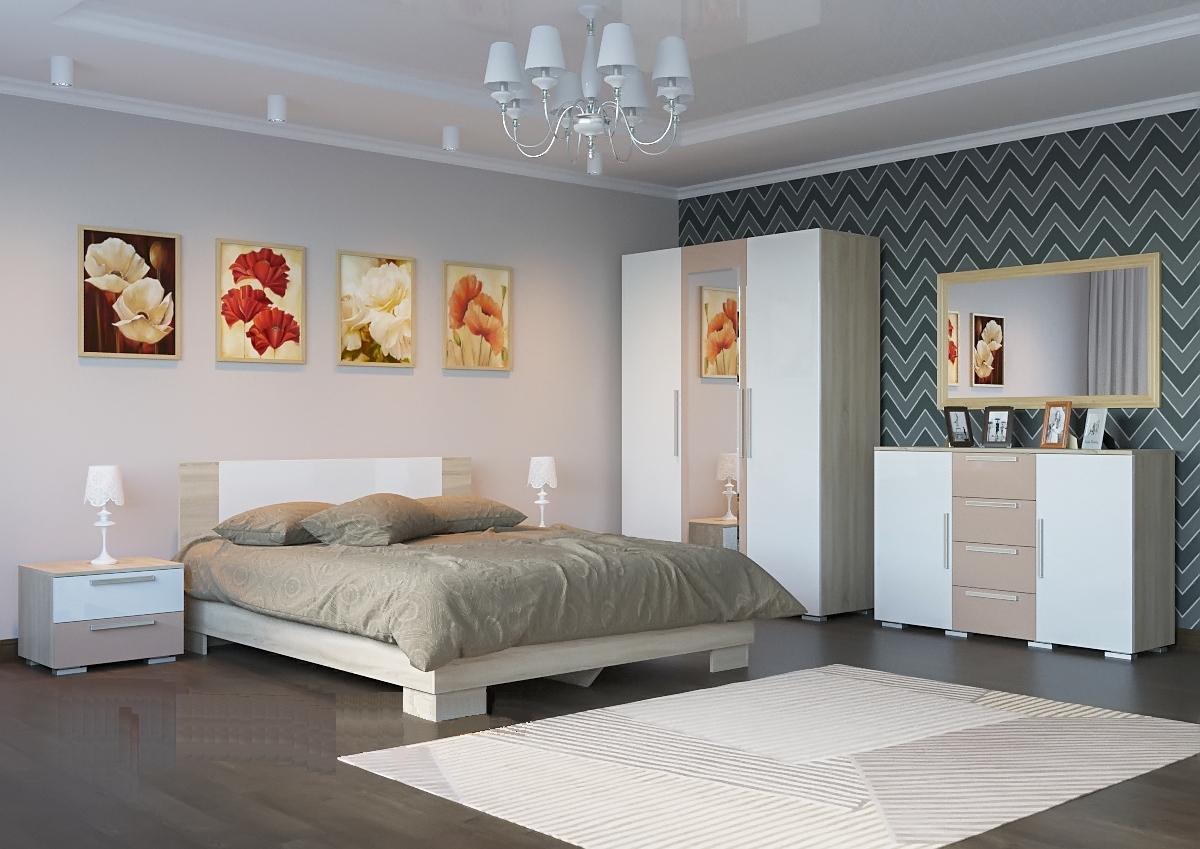 Спальня Лагуна-2 мдф