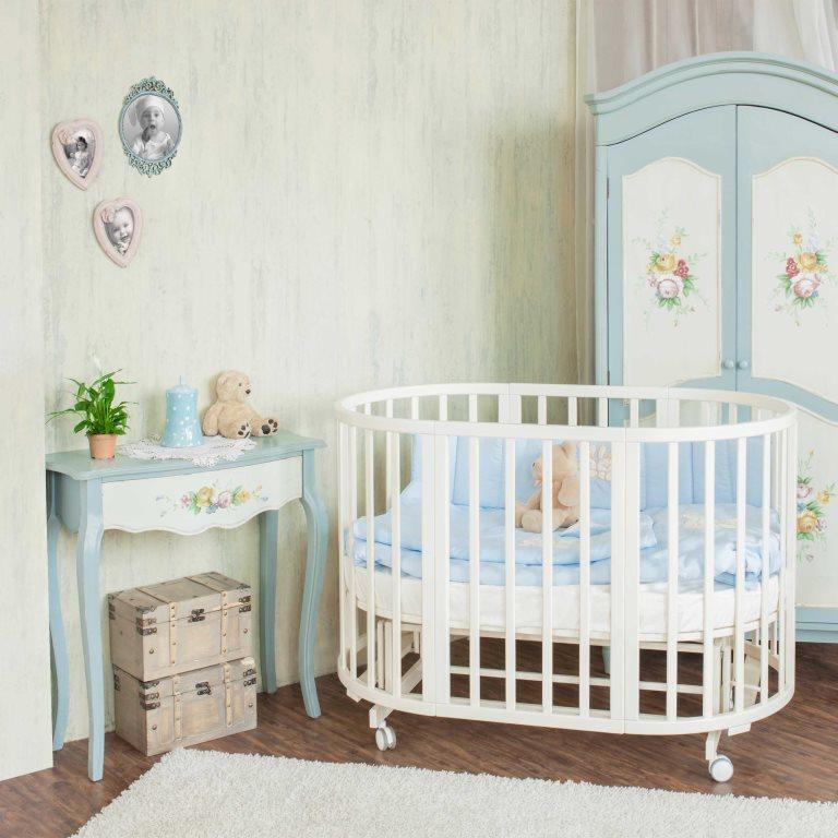 Кровать детская Северянка 3 (6 в 1) + матрац
